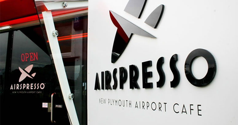 Airspresso - New Plymouth Airport Cafe.