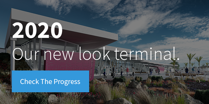 2020 - Our new look terminal. Check the progress.