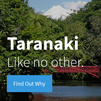 Taranaki - Like no other.